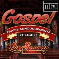 Gospel Praise Announcements MIDI
